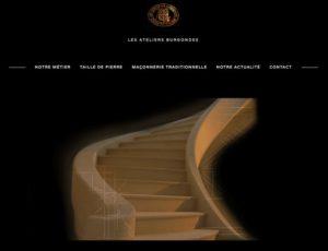 Nouveau site Ateliers Burgondes